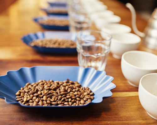 Coffee cupping service